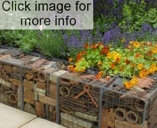 recycled garden retaining
